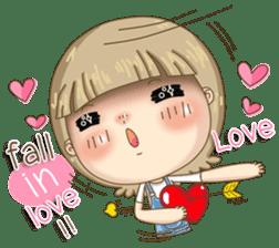 Twinkling Girl (Eng) sticker #10760485
