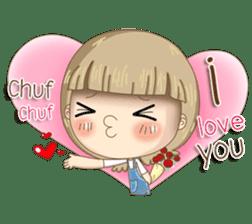 Twinkling Girl (Eng) sticker #10760486