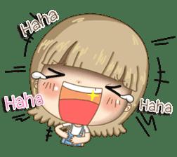 Twinkling Girl (Eng) sticker #10760489