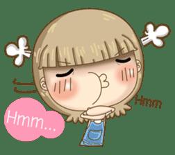 Twinkling Girl (Eng) sticker #10760493