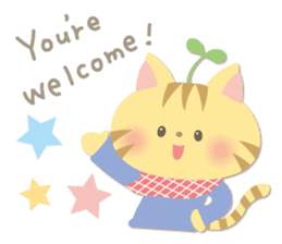 Congratulations and Thank you[English] sticker #10762585