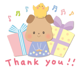 Congratulations and Thank you[English] sticker #10762586