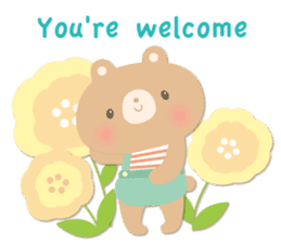 Congratulations and Thank you[English] sticker #10762590