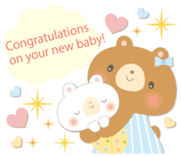 Congratulations and Thank you[English] sticker #10762615