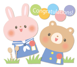 Congratulations and Thank you[English] sticker #10762622