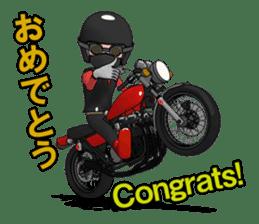 Ride naked bike 2 sticker #10763065