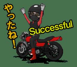 Ride naked bike 2 sticker #10763071