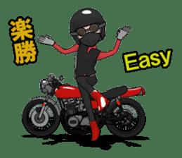 Ride naked bike 2 sticker #10763072
