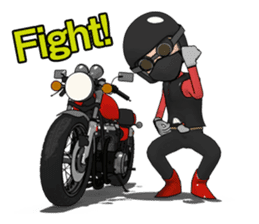 Ride naked bike 2 sticker #10763076