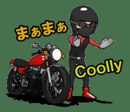 Ride naked bike 2 sticker #10763079