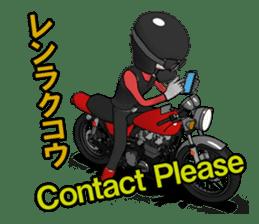 Ride naked bike 2 sticker #10763082