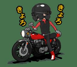 Ride naked bike 2 sticker #10763086