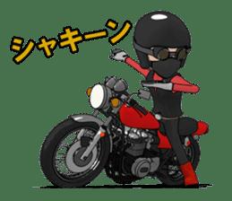 Ride naked bike 2 sticker #10763095