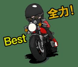 Ride naked bike 2 sticker #10763097