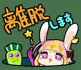 Fairy tale rabbit sister sticker #10763554