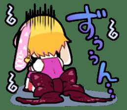 Fairy tale rabbit sister sticker #10763558
