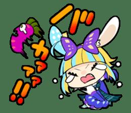 Fairy tale rabbit sister sticker #10763567