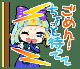 Fairy tale rabbit sister sticker #10763574