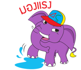 Jumbo and the Gang sticker #10764280