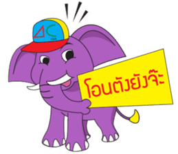 Jumbo and the Gang sticker #10764302