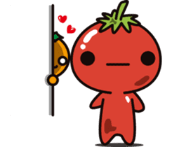 Tomato and Orange sticker #10764787