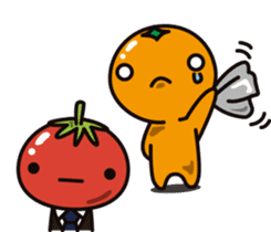 Tomato and Orange sticker #10764809