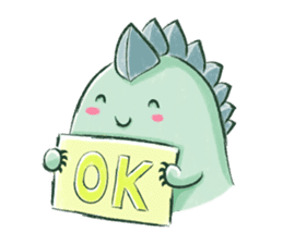 Gecko Chan sticker #10766206