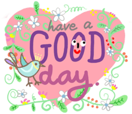 How's your day? sticker #10769863
