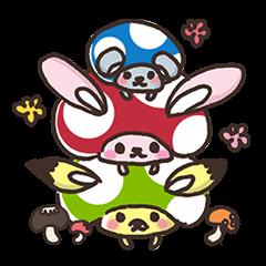 Mushroom animals