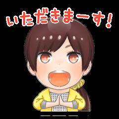 Chibi Yuka Kinoshita Sticker