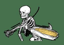 just bones8 sticker #10782394