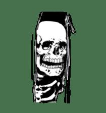 just bones8 sticker #10782401