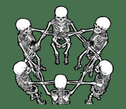 just bones8 sticker #10782402