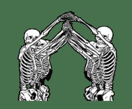 just bones8 sticker #10782403