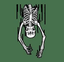 just bones8 sticker #10782404
