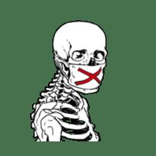 just bones8 sticker #10782405