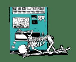 just bones8 sticker #10782406