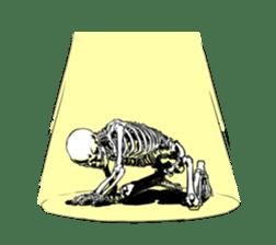 just bones8 sticker #10782407
