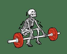 just bones8 sticker #10782408