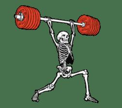 just bones8 sticker #10782409
