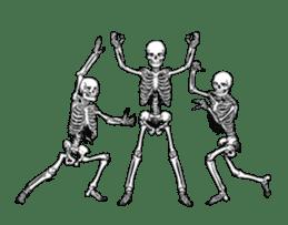 just bones8 sticker #10782410