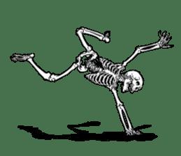 just bones8 sticker #10782412