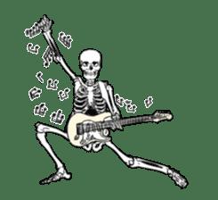 just bones8 sticker #10782414