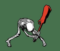just bones8 sticker #10782415