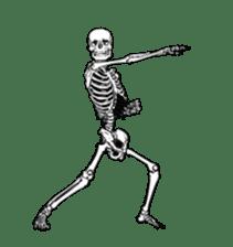 just bones8 sticker #10782418