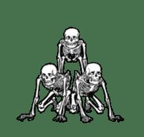 just bones8 sticker #10782419