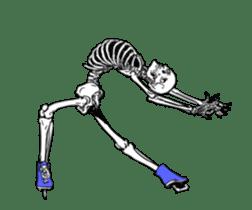 just bones8 sticker #10782420