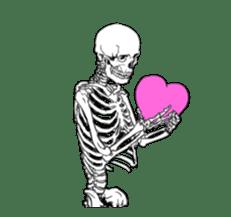 just bones8 sticker #10782422