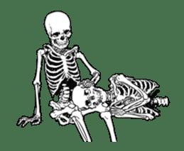 just bones8 sticker #10782423