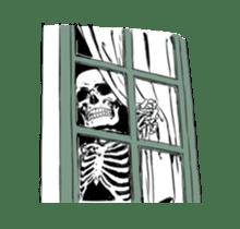 just bones8 sticker #10782425